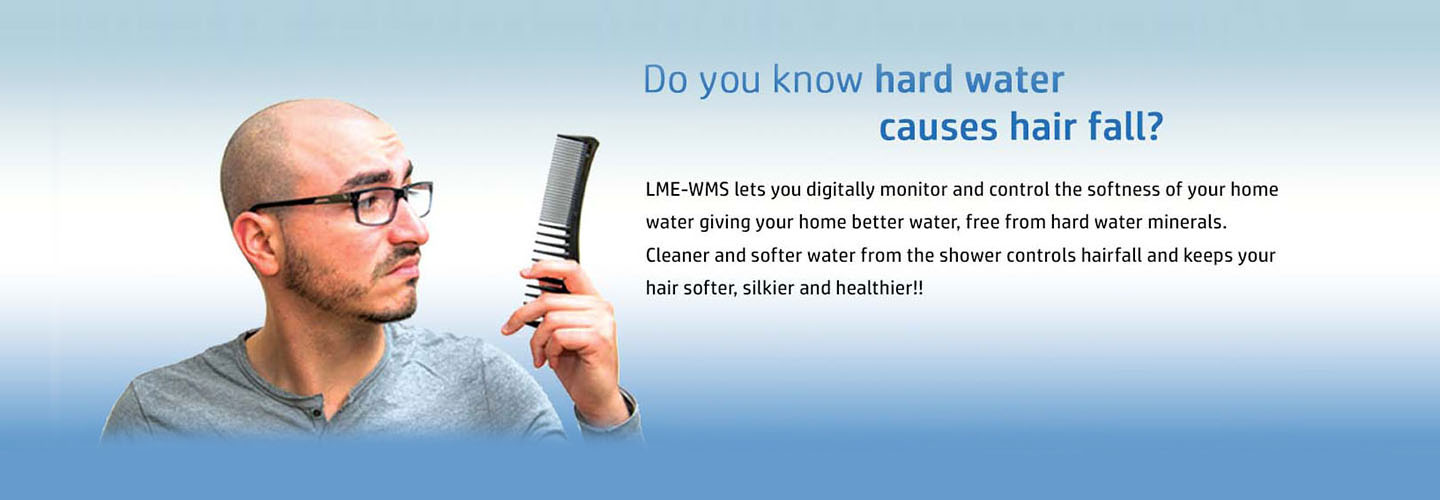 hard water cause hair loss treatment for the hair loss due to hard water.