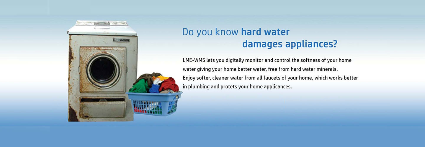 hard water damages appliances free from hard water minerals.