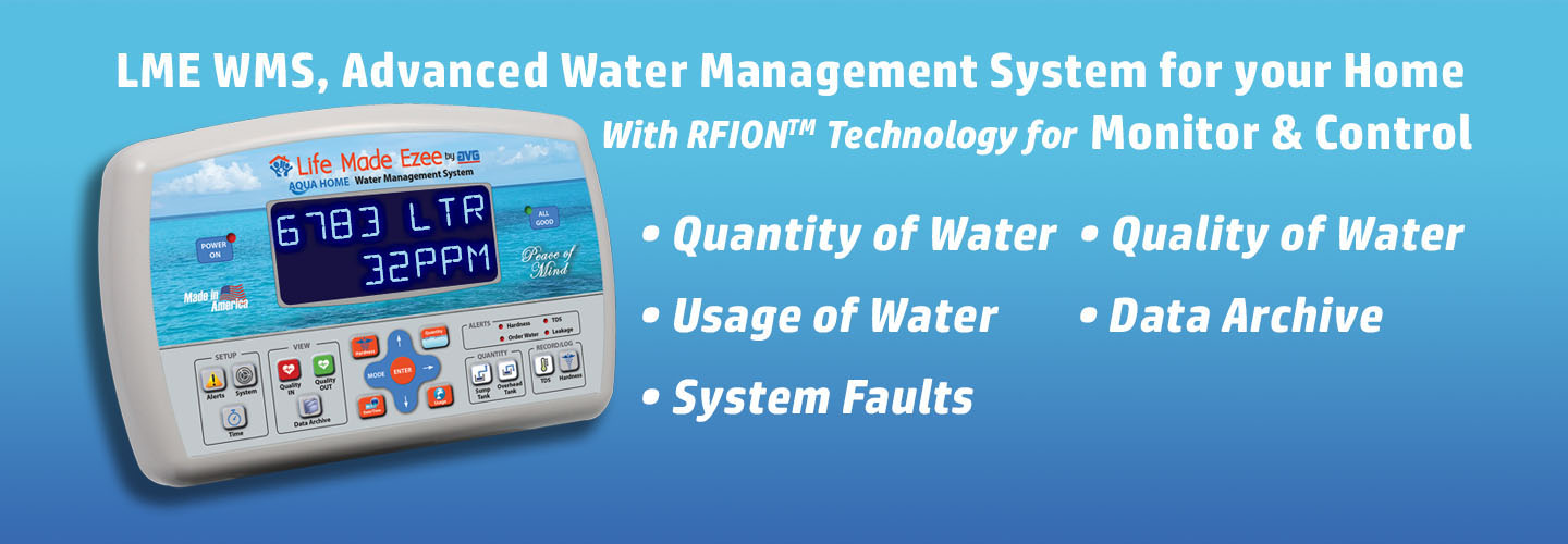 Water management systems need of water management system usage of water monitor and control of hard water effects.